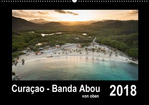 Curaçao – Banda Abou von oben (Wandkalender 2018 DIN A2 quer) von - Yvonne & Tilo Kühnast,  naturepics