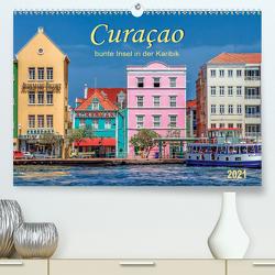 Curaçao – bunte Insel in der Karibik (Premium, hochwertiger DIN A2 Wandkalender 2021, Kunstdruck in Hochglanz) von Roder,  Peter