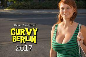 CURVY BERLIN Kalender 2017 von Akstinat,  Simon