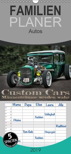 Custom Cars – Männerträume werden wahr – Familienplaner hoch (Wandkalender 2019 , 21 cm x 45 cm, hoch) von Swierczyna,  Eleonore
