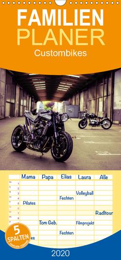 Custombikes 2020 – Familienplaner hoch (Wandkalender 2020 , 21 cm x 45 cm, hoch) von Snpshts-Fotografie