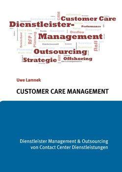 Customer Care Management von Lamnek,  Uwe