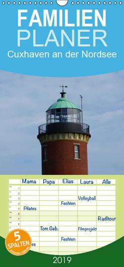 Cuxhaven an der Nordsee – Familienplaner hoch (Wandkalender 2019 , 21 cm x 45 cm, hoch) von kattobello