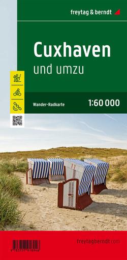 Cuxhaven und umzu, Wander- und Radkarte 1:60.000