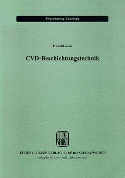 CVD-Beschichtungstechnik von Lautner,  Volker, Pritzlaff,  Dietmar