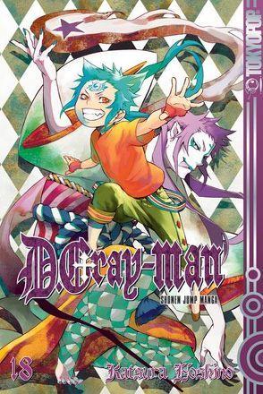 D.Gray-Man 18 von Hoshino,  Katsura