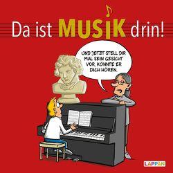 Da ist Musik drin – Cartoons zum Thema Klassische Musik von Diverse, Holtschulte,  Michael, Perscheid,  Martin