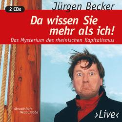 Da Wissen Sie…. von Becker Jürgen