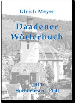 Daadener Wörterbuch von Meyer,  Ulrich