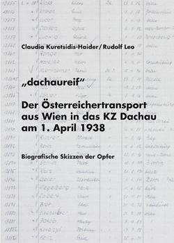 """dachaureif"" von Kuretsidis,  Claudia, Leo,  Rudolf, Mehany-Mitterrutzner,  Christa"