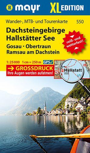 Dachsteingebirge, Hallstätter See XL von KOMPASS-Karten GmbH
