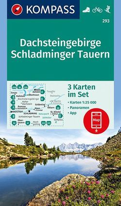Dachsteingebirge, Schladminger Tauern von KOMPASS-Karten GmbH