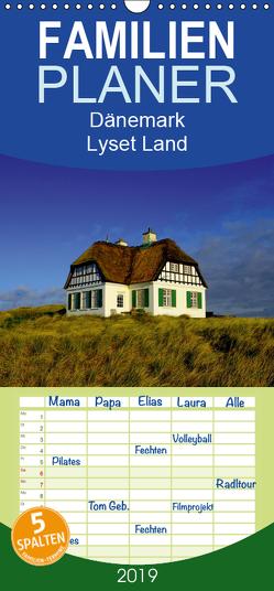 Dänemark – Lyset Land – Familienplaner hoch (Wandkalender 2019 , 21 cm x 45 cm, hoch) von strandmann@online.de