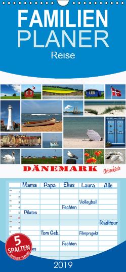 Dänemark – Ostseeküste – Familienplaner hoch (Wandkalender 2019 , 21 cm x 45 cm, hoch) von Carina-Fotografie