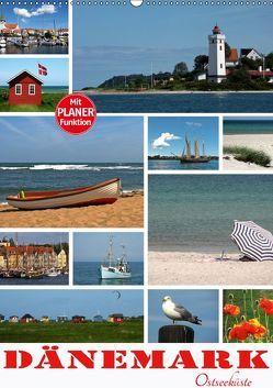 Dänemark – Ostseeküste (Wandkalender 2019 DIN A2 hoch) von N.,  N.