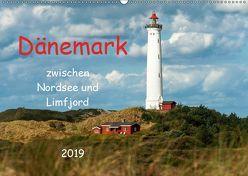 Dänemark zwischen Nordsee und Limfjord (Wandkalender 2019 DIN A2 quer) von Pompsch,  Heinz
