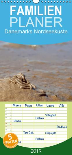 Dänemarks Nordseeküste – Familienplaner hoch (Wandkalender 2019 , 21 cm x 45 cm, hoch) von Valentino,  Bo