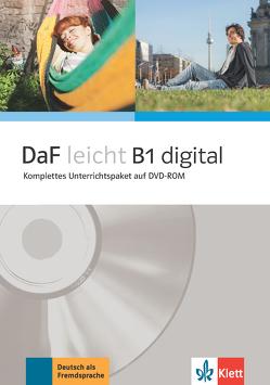 DaF leicht B1 digital von Jentges,  Sabine, Körner,  Elke, Lundquist-Mog,  Angelika, Reinke,  Kerstin, Schwarz,  Eveline