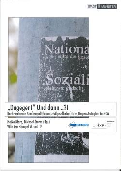 """""""Dagegen!"""" Und dann…?! von Klare,  Heiko, Sturm,  Michael"""