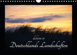 daheim in Deutschlands Landschaften (Wandkalender 2019 DIN A4 quer) von Aupperle,  Nicole