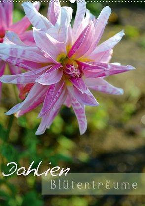 Dahlien – Blütenträume (Wandkalender 2018 DIN A2 hoch) von Kröll,  Ulrike