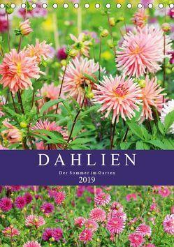 Dahlien – Der Sommer im Garten (Tischkalender 2019 DIN A5 hoch) von Frost,  Anja