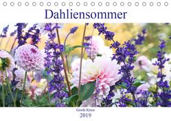 Dahliensommer (Tischkalender 2019 DIN A5 quer) von Kruse,  Gisela