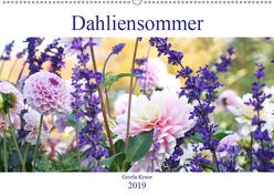 Dahliensommer (Wandkalender 2019 DIN A2 quer) von Kruse,  Gisela