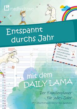 Daily Lama Familienplaner von Gaymann,  Saskia, medhochzwei Verlag