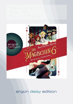 Die magischen Sechs – Mr Vernons Zauberladen (DAISY Edition) von Harris,  Neil Patrick, Jäger,  Simon, Segerer,  Katrin