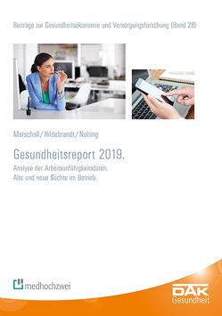 DAK-Gesundheitsreport 2019 von Hildebrandt,  Susanne, Marschall,  Jörg, Nolting,  Hans-Dieter, Storm,  Andreas