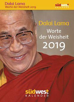 Dalai Lama – Worte der Weisheit 2019 Tagesabreißkalender von Liebl,  Elisabeth