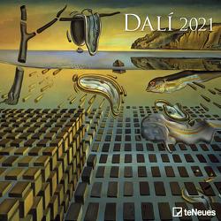 Dali 2021 – Wand-Kalender – Broschüren-Kalender – 30×30 – 30×60 geöffnet – Kunst-Kalender von Dalí,  Salvador