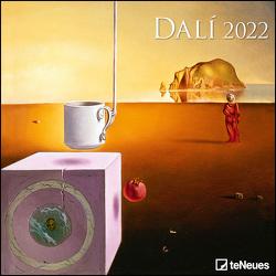 Dali 2022 – Wand-Kalender – Broschüren-Kalender – 30×30 – 30×60 geöffnet – Kunst-Kalender von Dalí,  Salvador