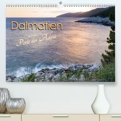 Dalmatien – Perle der Adria (Premium, hochwertiger DIN A2 Wandkalender 2021, Kunstdruck in Hochglanz) von Weber,  Melanie
