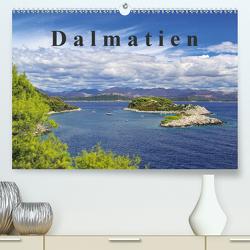 Dalmatien (Premium, hochwertiger DIN A2 Wandkalender 2021, Kunstdruck in Hochglanz) von LianeM