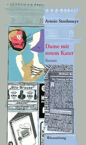 Dame mit rotem Kater von Strohmeyr,  Armin