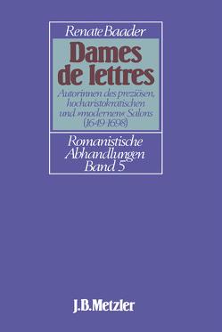 Dames de Lettres von Baader,  Renate