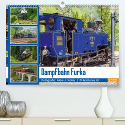 Dampfbahn Furka 2020CH-Version (Premium, hochwertiger DIN A2 Wandkalender 2020, Kunstdruck in Hochglanz) von J. Koller 4Pictures.ch,  Alois