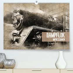 Dampflok Impressionen (Premium, hochwertiger DIN A2 Wandkalender 2020, Kunstdruck in Hochglanz) von Meutzner,  Dirk