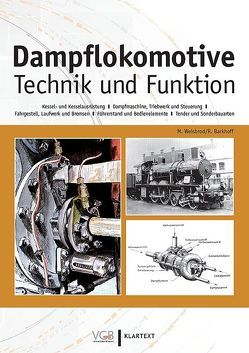 Dampflokomotive von Barkhoff,  Reinhold, Weisbrod,  Manfred
