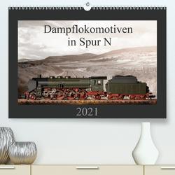 Dampflokomotiven in Spur N (Premium, hochwertiger DIN A2 Wandkalender 2021, Kunstdruck in Hochglanz) von Ritter Fotografie,  Christian