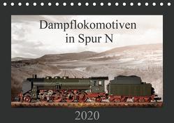 Dampflokomotiven in Spur N (Tischkalender 2020 DIN A5 quer) von Ritter Fotografie,  Christian