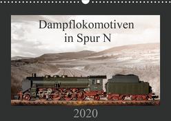 Dampflokomotiven in Spur N (Wandkalender 2020 DIN A3 quer) von Ritter Fotografie,  Christian