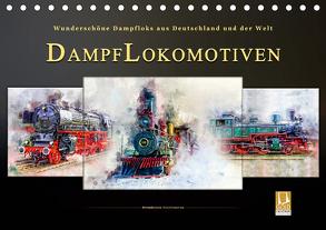 Dampflokomotiven – wunderschöne Dampfloks aus Deutschland und der Welt (Tischkalender 2020 DIN A5 quer) von Roder,  Peter