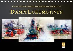 Dampflokomotiven – wunderschöne Dampfloks aus Deutschland und der Welt (Tischkalender 2021 DIN A5 quer) von Roder,  Peter