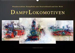 Dampflokomotiven – wunderschöne Dampfloks aus Deutschland und der Welt (Wandkalender 2019 DIN A2 quer) von Roder,  Peter