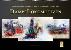 Dampflokomotiven – wunderschöne Dampfloks aus Deutschland und der Welt (Wandkalender 2020 DIN A2 quer) von Roder,  Peter