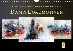 Dampflokomotiven – wunderschöne Dampfloks aus Deutschland und der Welt (Wandkalender 2021 DIN A4 quer) von Roder,  Peter