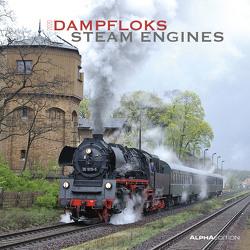 Dampfloks 2020 – Steam Engines – Broschürenkalender (30 x 60 geöffnet) – Wandkalender – Eisenbahn – Lokomotive – Wandplaner von ALPHA EDITION